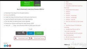 Avira Phantom VPN Pro 2.32.2.34115 With Crack [Latest] Version