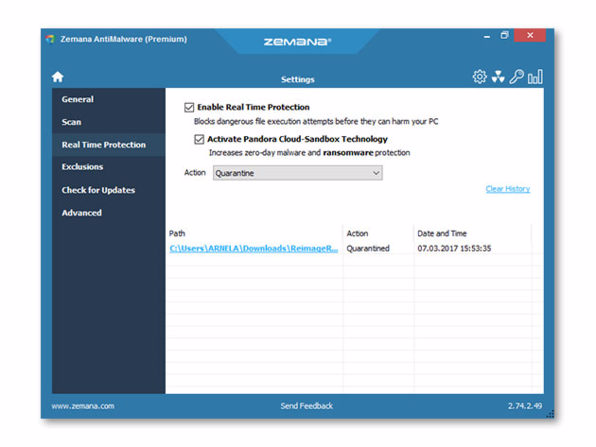 Zemana AntiMalware Premium 3.2.15 Crack With Torrent Key