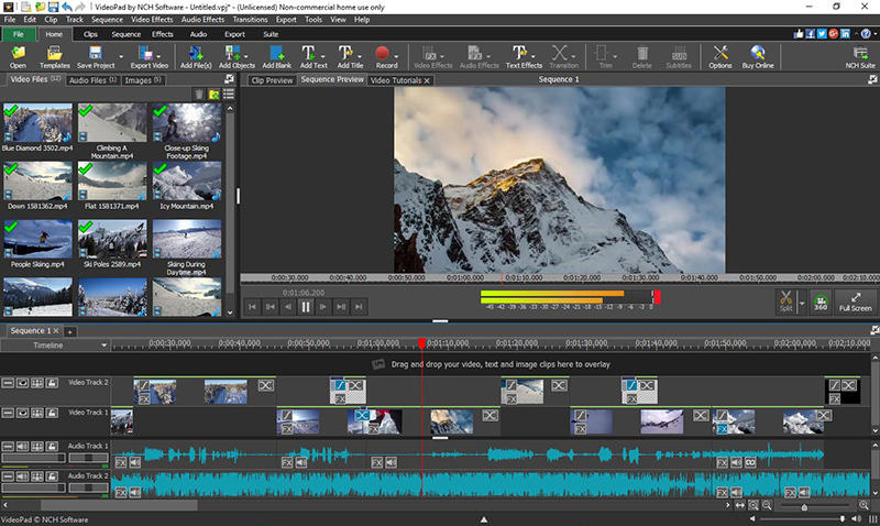 VideoPad Video Editor 8.71 Crack Plus Keygen Full Download Latest
