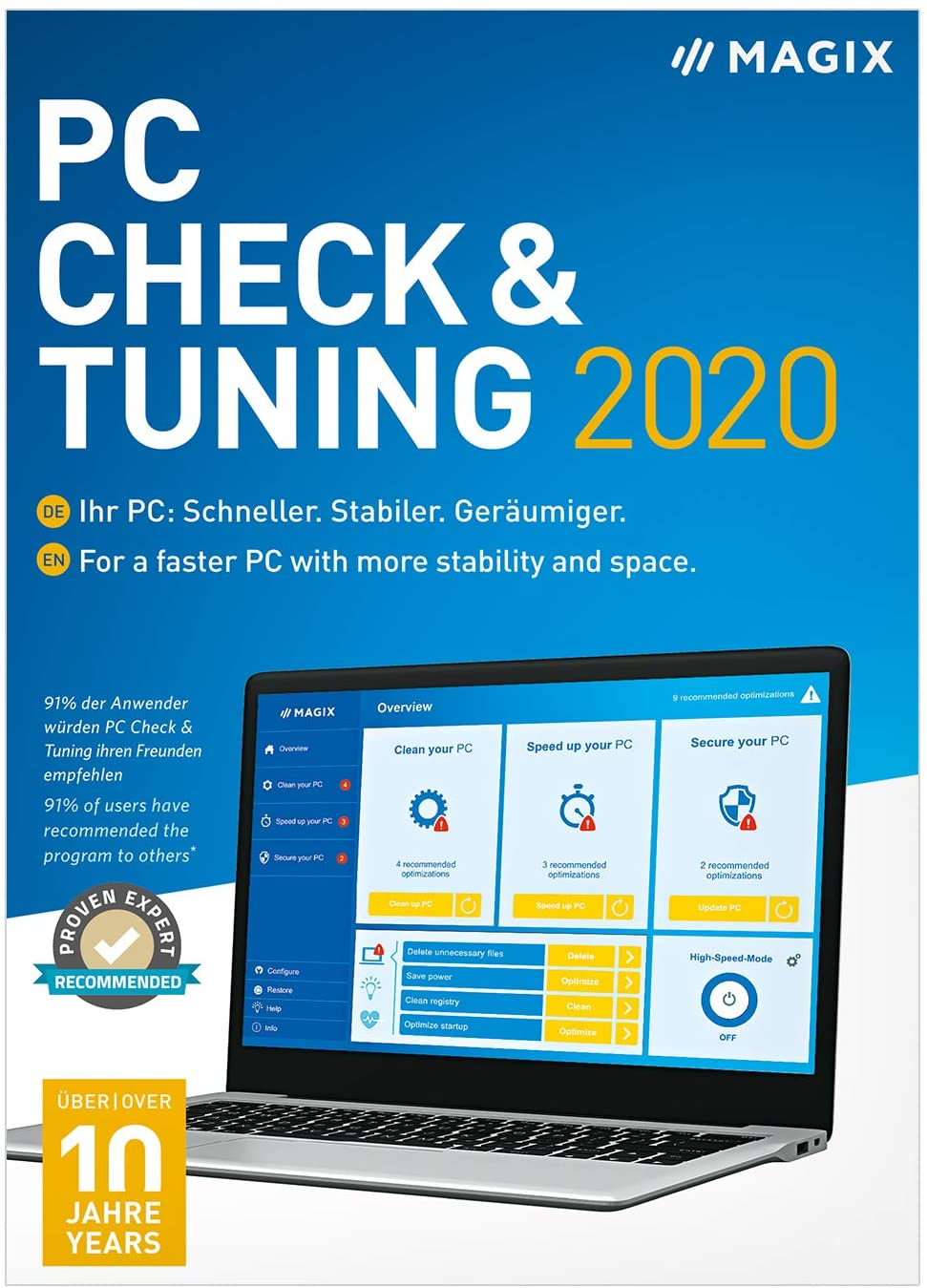 Magix PC Check & Tuning 2020 Crack Serial Key Free Download